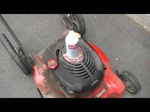 How To Keep Lawn Mower Snow Blower Carburetor Running