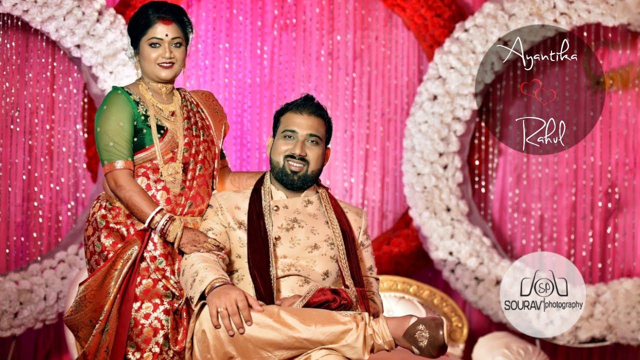 CINEMATIC WEDDING TEASER || Ayantika & Rahul || Sourav's Photography 2020