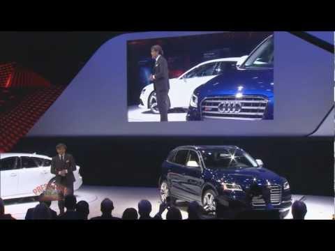 Audi Presentation at 2013 Detroit Auto Show