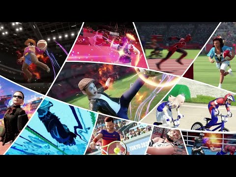 Olympic Games Tokyo 2020: The Official Video Game   Launch Trailer   Available Now