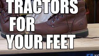 John Deere Waterproof Work Boots
