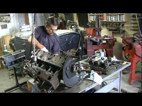 1925 Dodge Brothers Engine Rebuild - YouTube
