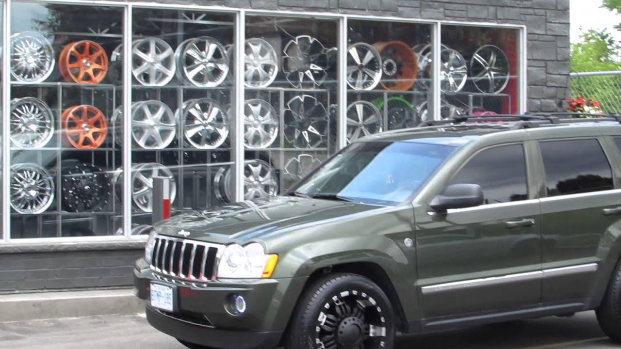 hillyard custom rim&tire 2007 jeep grand cherokee 20 inch off road