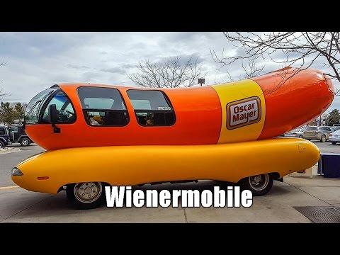 Oscar Mayer Wienermobile inside look!