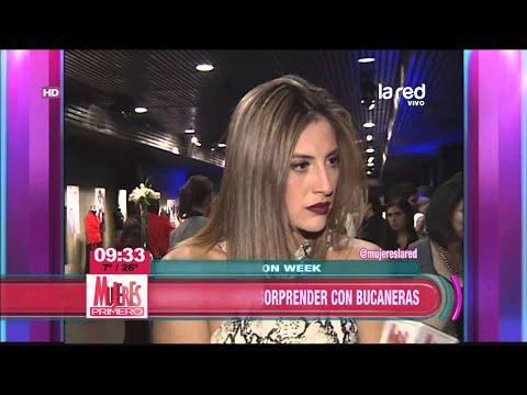 La alfombra roja del Santiago Fashion Week