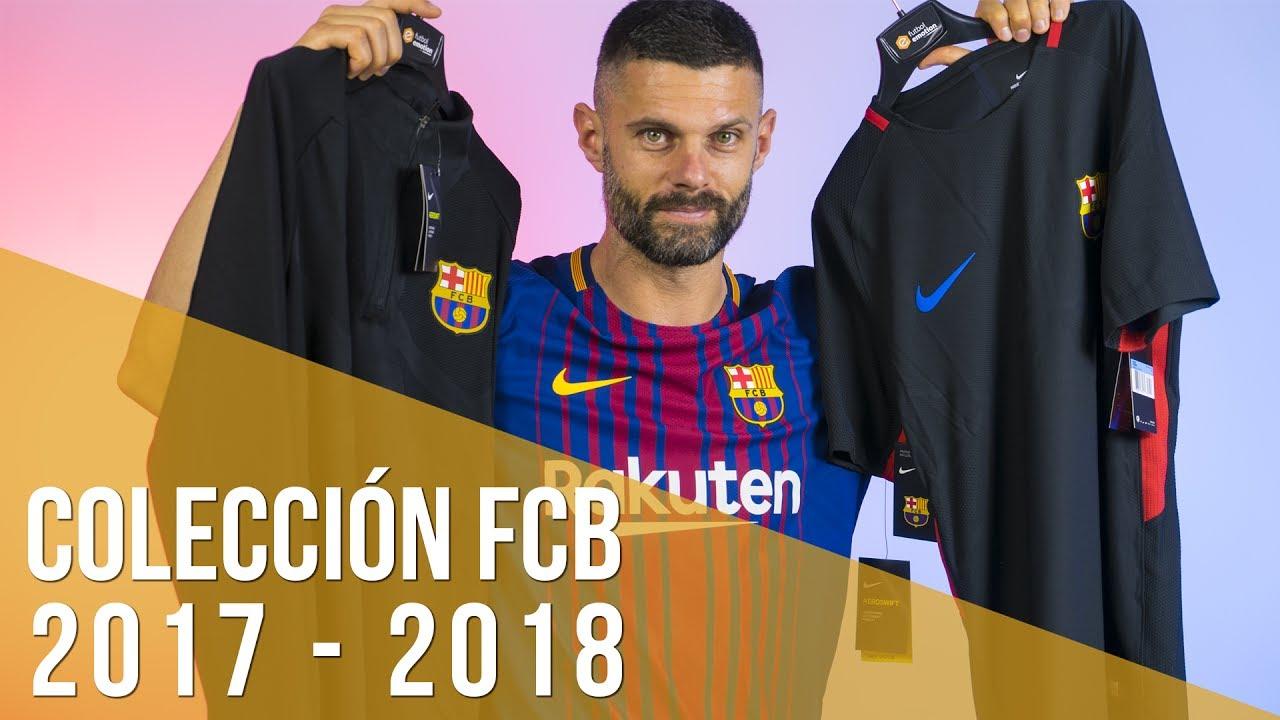 Novedades en las camisetas del FC Barcelona 2017 2018 - YouTube 97922819916