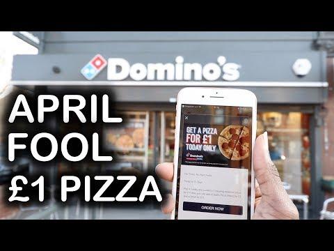 Domino's April Fool £1 PIZZA?
