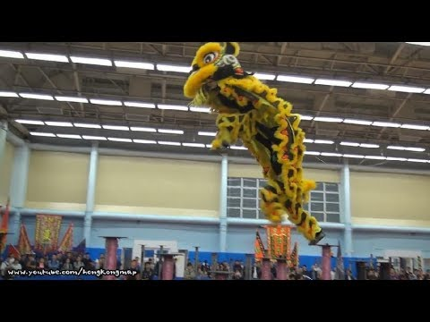 Hong Kong Open Championship - Chinese Lion Dance (2017 - Par