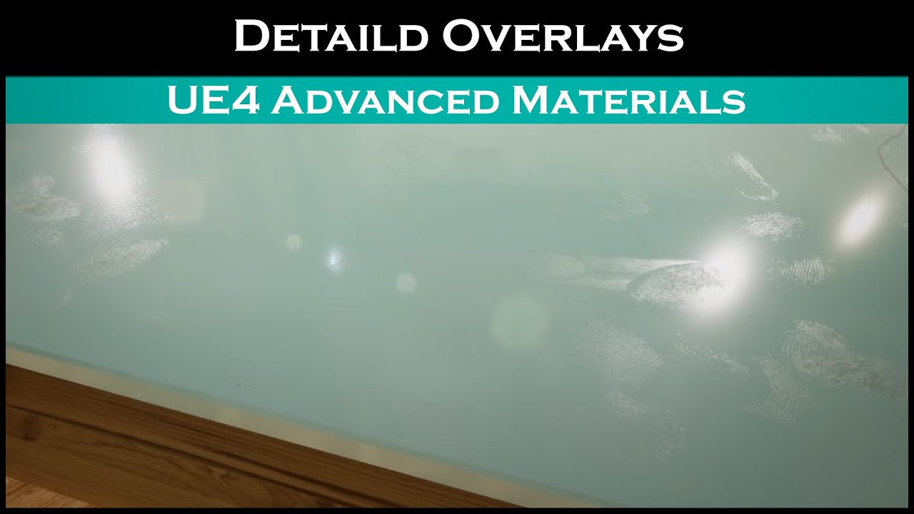 Ue4: advanced materials (Ep  29 Detailed Overlays)