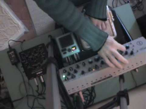 Handmade beats w/ TENORI-ON & Sherman Filterbank 2 (by Smith)
