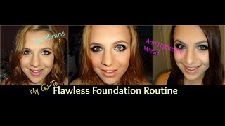 Flawless Foundation Routine Great for Photos and Nighttime Wear