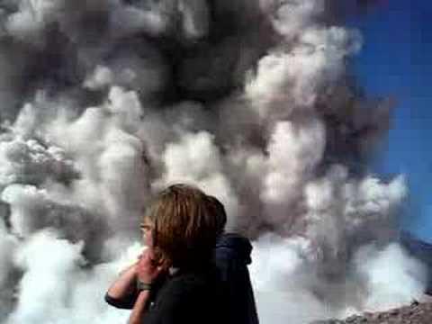 Part 1 Exploding Santiaguito Guatemala by Rijk Smitskamp