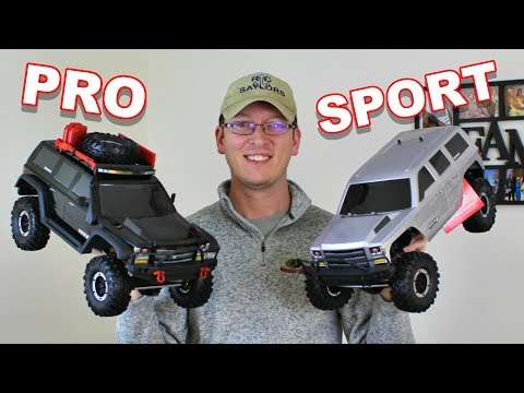 Redcat Racing Everest Gen7 Pro Vs SPORT At A Glance 1/10 4WD RTR Scale Rock Crawler - TheRcSaylors
