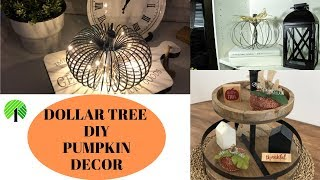 ((GIVEAWAY CLOSED)) DOLLAR TREE DIY PUMPKIN DECOR  (10K SUBSCRIBER GIVEAWAY)