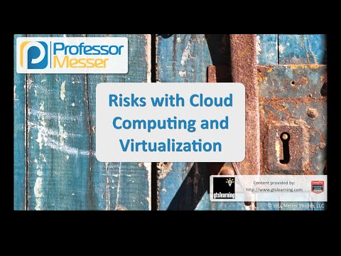 Risks with Cloud Computing and Virtualization – CompTIA Security+ SY0-401: 2.1