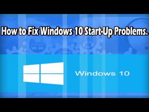 How To Fix Start Up Problems Using Startup Repair On Windows 10