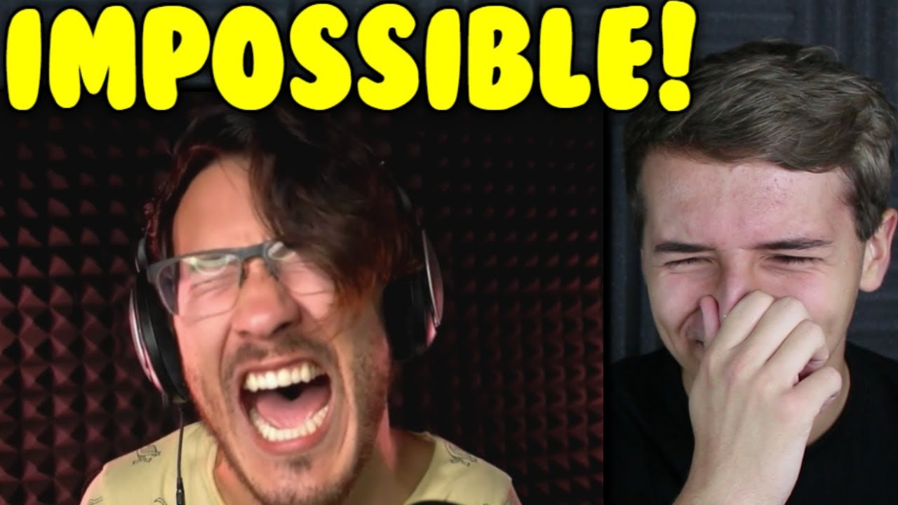 Markiplier Try Not To Laugh Challenge #9 Reaction - YouTube Markiplier Try Not To Laugh