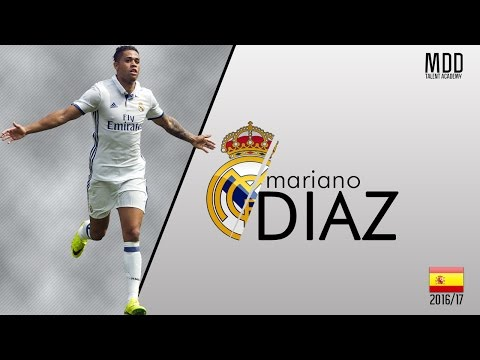 Mariano Diaz | Real Madrid | Goals, Skills, Assists | 2016/17 - HD
