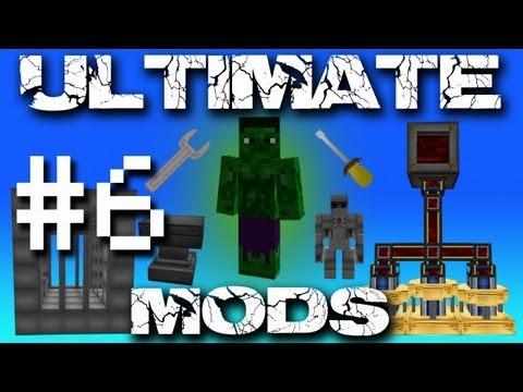 Minecraft Ultimate Mods - Auto Ore Processing! #6