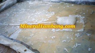 vat leaching, mengolah emas sistem perendaman