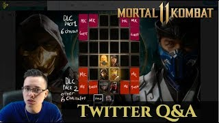 ROSTER SIZE PREDICTION? Mortal Kombat 11 Twitter Q&A With HoneyBee!