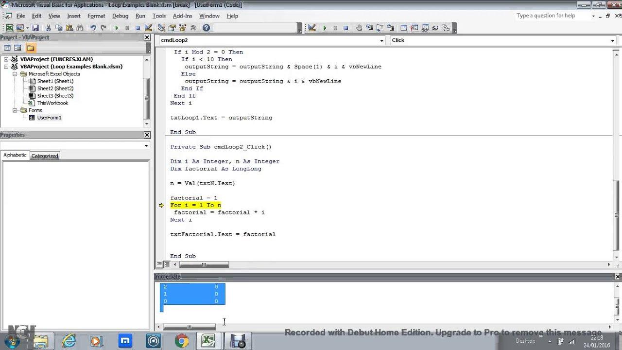 13 2 Loop Set 2 Factorial