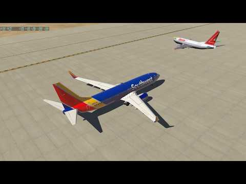 SWA B738 KVCV Landing