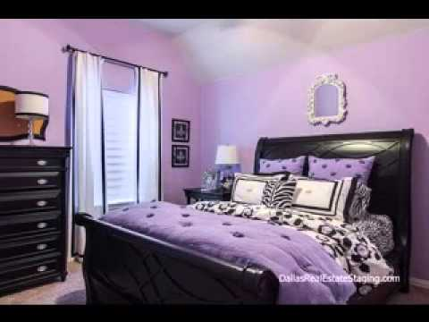 Lavender bedroom decor ideas - YouTube