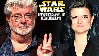 George Lucas Is Cancelling Leslye Headland! (Star Wars Explained) Mike Zeroh