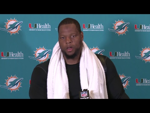 Dolphins Live: Ndamukong Suh meets with the media.