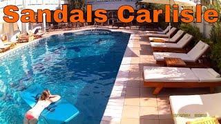 sandals carlisle montego bay jamaica 2015 tour review