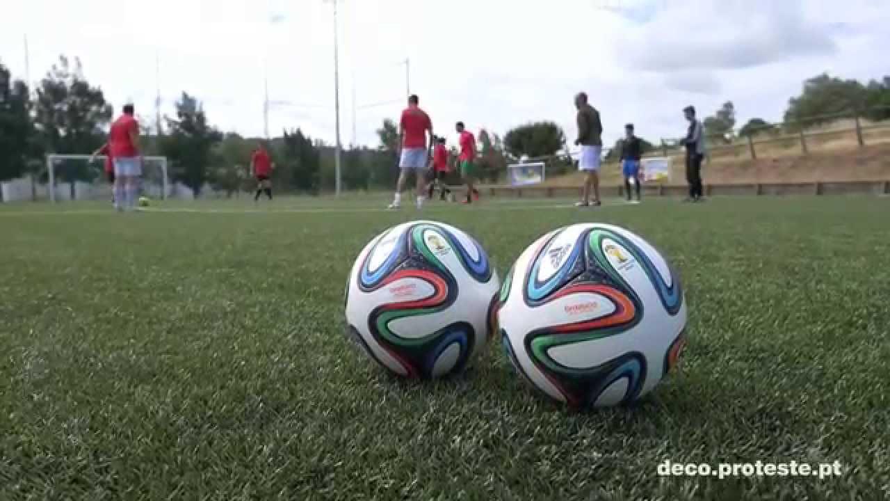 47224a9ec6e82 Bolas de futebol  Brazuca aprovada - YouTube