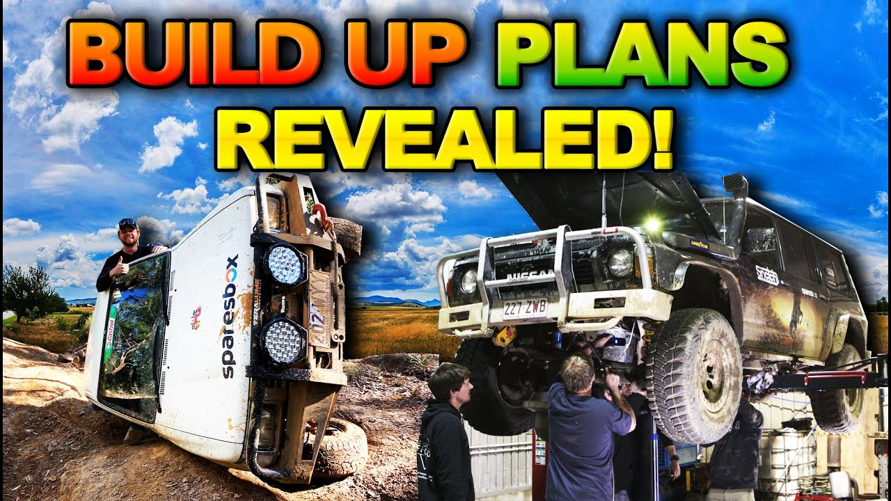 CHEAP 4WD CHALLENGE Q&A – Will Shauno build a NISSAN!?? Plus hilarious 4WD Fails! // The Shed Ep 9