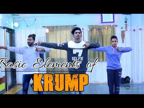 Funky Sunday with Street Movements  -Episode no # 5 - Basic foundation of Krump - krump Tutorial