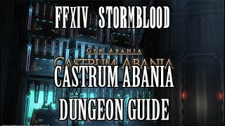 FFXIV Stormblood: Castrum Abania Dungeon Guide