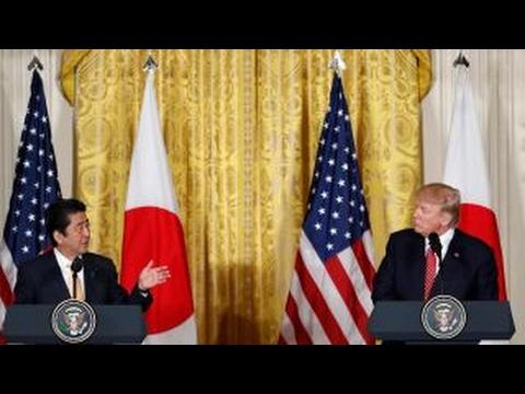 Trump, Japan PM Shinzo Abe respond to FBN on terror, trade