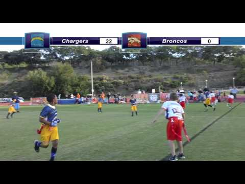 NFL Flag San Diego Fall 2013 Playoffs - Chargers v Broncos (Round 2)