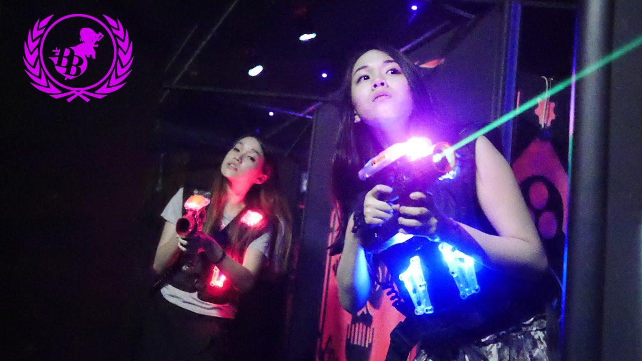 Laser Battle Berjaya Times Square Youtube