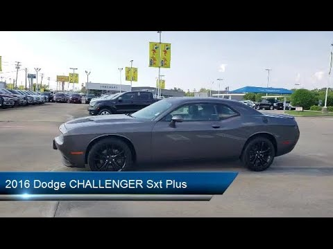 2016 Dodge CHALLENGER Sxt Plus Dallas Irving Arlington Fort Worth Grand Prairie