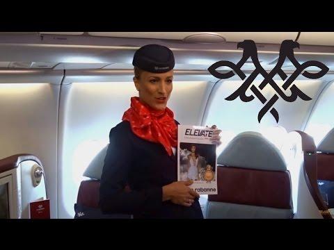 Air Serbia Airbus A330 Cabin & Service presentation