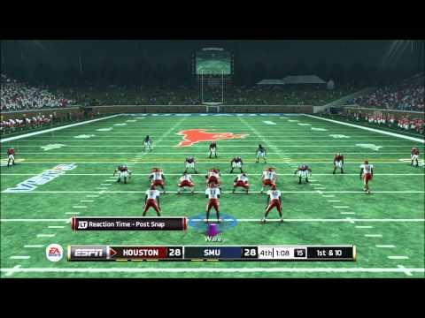 NCAA 13 : Heismen Challenge Andre Ware vs SMU