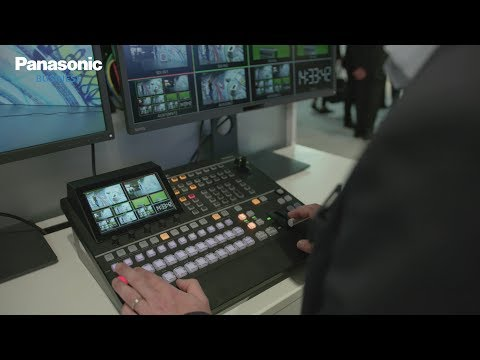 New Panasonic 4K Switcher AV-UHS500