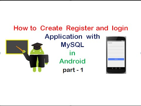 Android Login  and Registration with  PHP and MySQL :part1   UandBlog.com