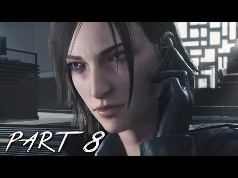 THE EVIL WITHIN 2 Walkthrough Gameplay Part 8 - Gas Mask (PS