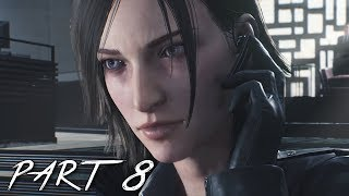 THE EVIL WITHIN 2 Walkthrough Gameplay Part 8 - Gas Mask (PS4 Pro)