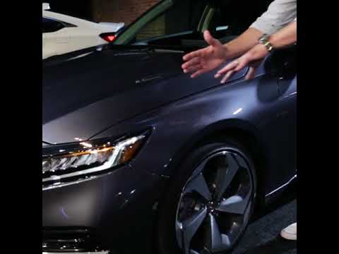 2018 Honda Accord Reveal – Styling