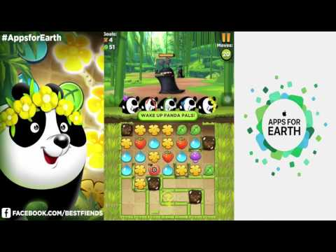 Best Fiends - The End ( Panda Quest - Apps For Earth Event )