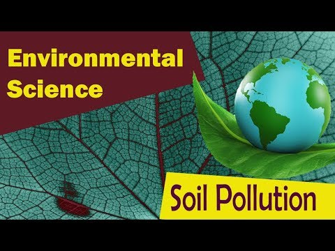 a study of soil pollution environmental sciences essay Water, air, and soil pollution agriculture, biology & environmental sciences  manuscripts on methods used in the study of environmental.