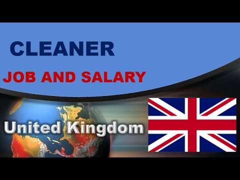 Cleaner Salary In The UK - Jobs And Wages In The United Kingdom