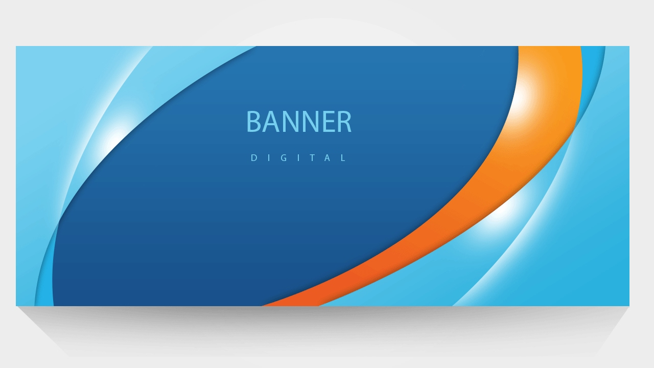 Design for banner using photoshop - How To Make A Easy Banners Banner Design Create Free Banner In Photoshop